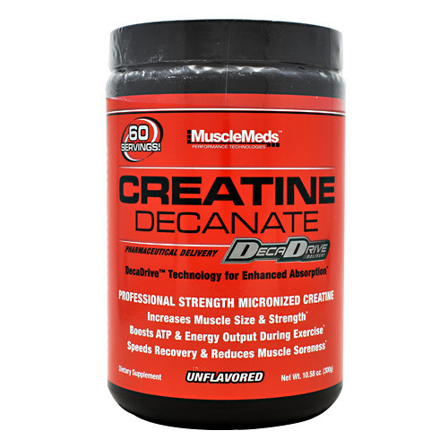 Creatine Decanate, Unflavored, 60 Servings (10.58 oz)