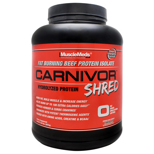 Carnivor Shred, Chocolate, 56 Servings (4.56 lbs)