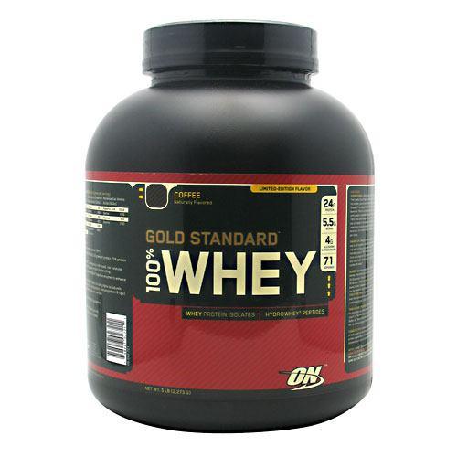 100% Whey, Coffee, 5 lb (2,273 g)