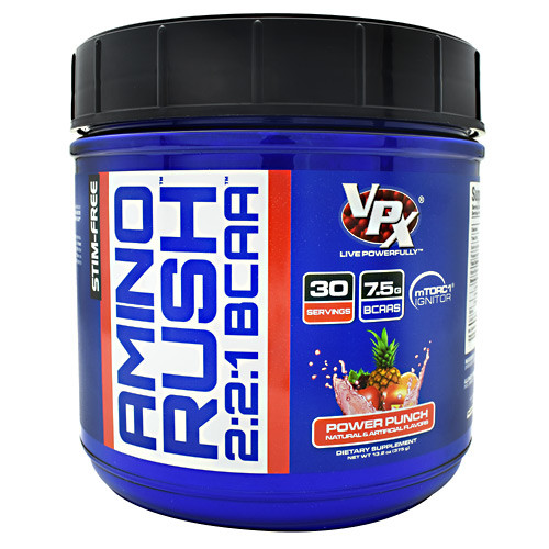 Amino Rush, Power Punch, 30 Servings (13.2 oz)