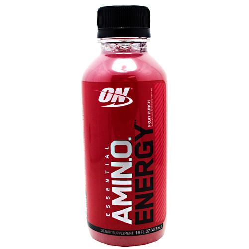 Amino Energy Rtd, Fruit Punch, 12- 16 FL oz