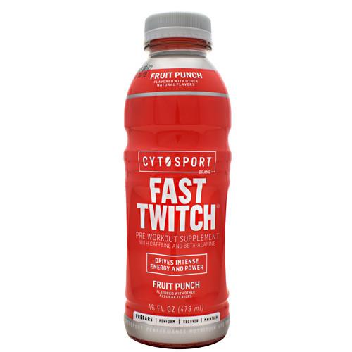 Fast Twitch, Fruit Punch, 12 (16 fl oz.) Bottles