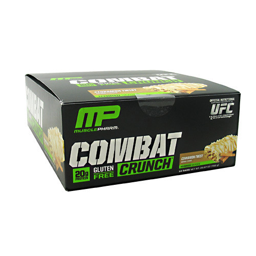 Combat Crunch, Cinnamon Twist, 12 Bars