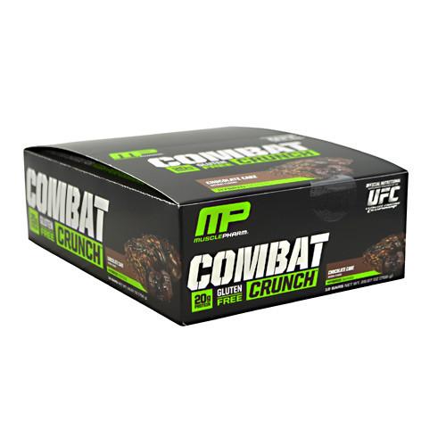 Combat Crunch, Chocolate Cake, 12 Bars