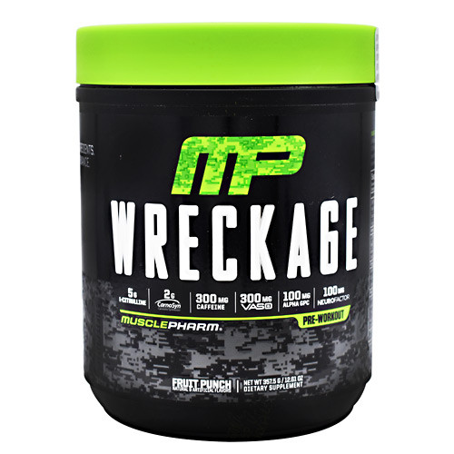 Wreckage Fruit Punch 25 Servings, 25 servings