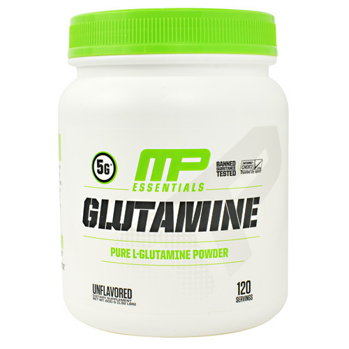 Glutamine, Unflavored, 120 Servings (600g)