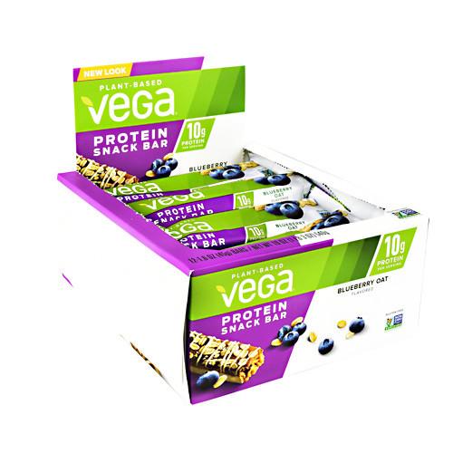 Protein Snack Bar, Blueberry Oat, 12 (1.6 oz) Bars