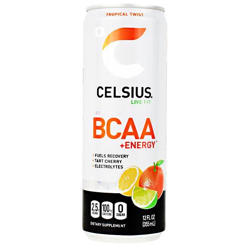 Celsius Bcaa+energy, Tropical Twist, 12  (12 fl oz) Cans