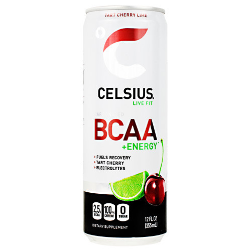 Celsius Bcaa+energy, Tart Cherry Lime, 12  (12 fl oz) Cans
