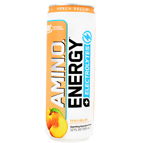 Amino Energy Sprk Rtd Peach 12