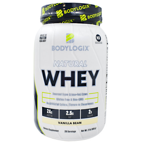 Natural Whey, Vanilla Bean, 2 lb. (908g)