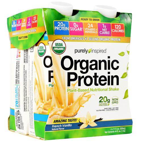 Organic Protein Rtd, French Vanilla, 12 (11 oz, 4 Pack) Cartons