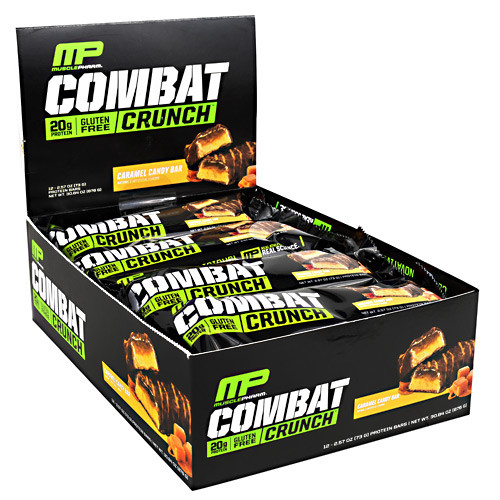 Combat Crunch Bars Carm Cdy 12