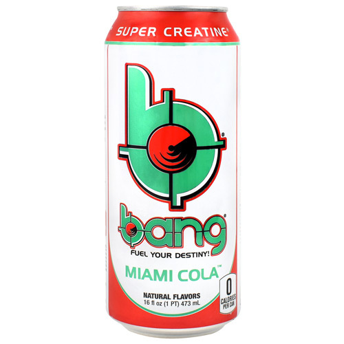 Bang, Miami Cola, 12 (16 fl oz) Cans