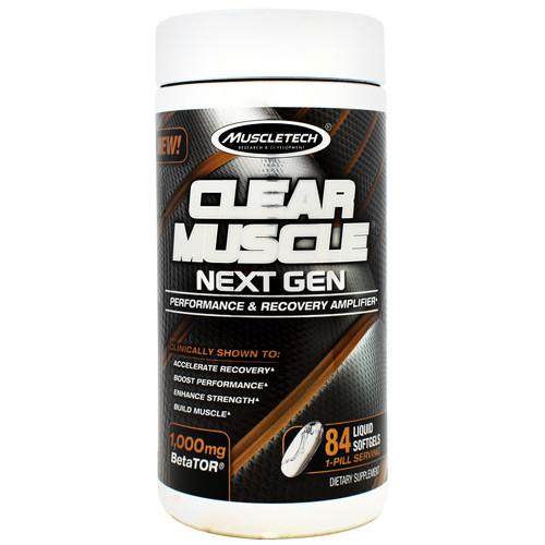 Clear Muscle Next Gen, 84 Liquid Softgels, 84 Liquid Softgels