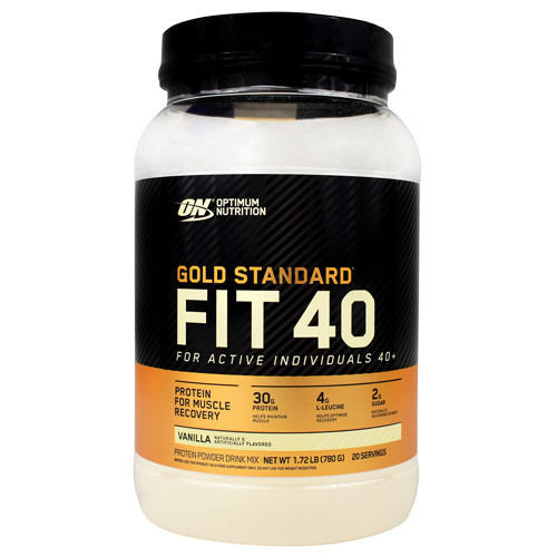 Fit 40, Vanilla, 20 Servings (1.72 lb)
