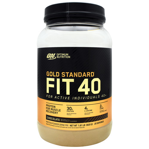Fit 40, Chocolate, 20 Servings (1.81 lb)