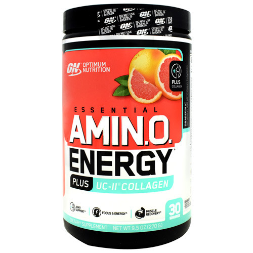 Amino Energy Plus Uc-ii Collagen, Grapefruit, 30 Servings (9.5 oz)
