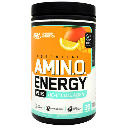 Amino Energy Plus Uc-ii Collagen, Mango Lemonade, 30 Servings (9.5 oz)