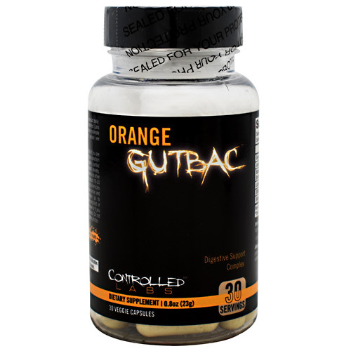 Orange Gutbac, 30 Veggie Capsules, 30 Veggie Capsules