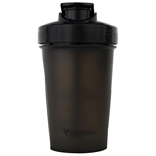 Shaker Bottle, Black, 20 oz (500ml)
