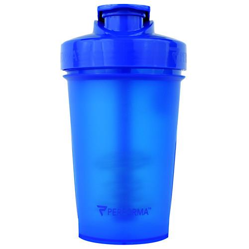 Shaker Bottle, Blue, 20 oz (500ml)