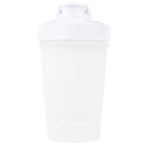 Shaker Bottle, White, 20 oz (500ml)