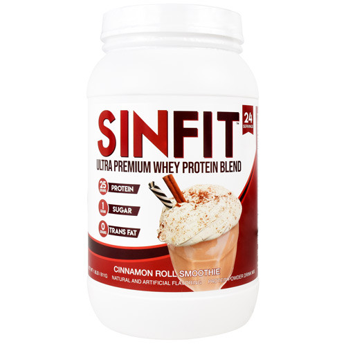 Sinfit, Cinnamon Roll Smoothie, 24 Servings (1.8 lb)
