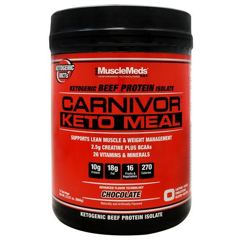 Carnivor Keto Meal Choc 14/s