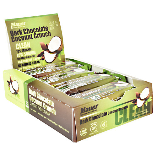 Classic Protein Bar, Dark Chocolate Coconut Crunch, 12 (2.6 oz) Bars