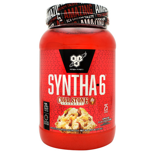 Syntha-6, Apple Pie A La Cold Stone, 25 Servings (2.59 lb)
