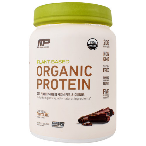 Organic Protein, Chocolate, 15 Servings (1.35 lb)