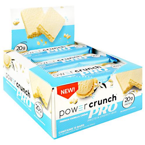 Power Crunch Pro, French Vanilla Creme, 12 (2.0 oz) Bars