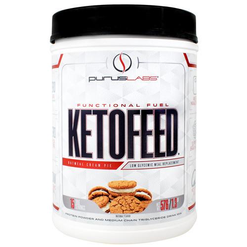 Ketofeed, Oatmeal Cream Pie, 15 Servings