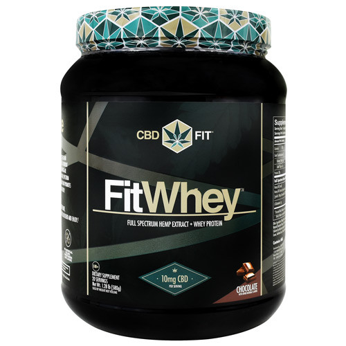 Fit Whey, Chocolate, 20 Servings (1.28 lb)