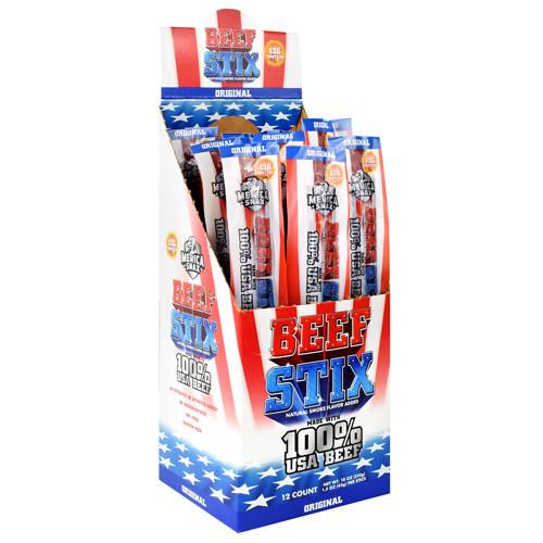 Beef Stix, Original, 12 (1.5 oz) Sticks