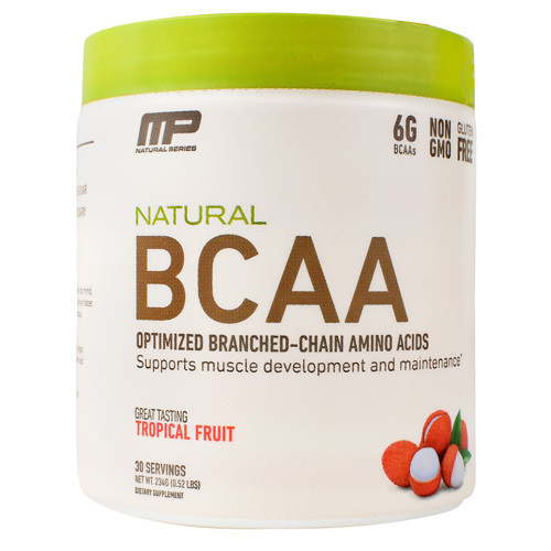 Natural Bcaa Trop Fruit 30/srv