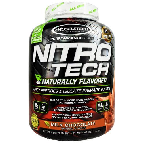 Nitro-tech Natural Choc 4lb