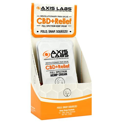 Cbd + Relief Cream, 10 (2 Ml) Snap Sachets, 10 (2 ml) Snap Sachets