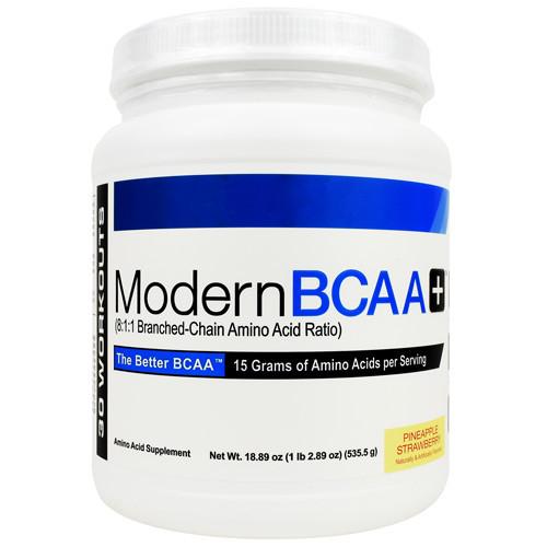 Modern Bcaa+, Pineapple Strawberry, 30 Servings (18.89 oz)