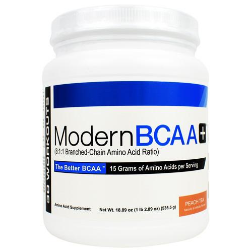 Modern Bcaa+, Peach Tea, 30 Servings (18.89 oz)