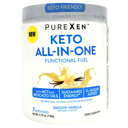 Keto All-in-one, Smooth Vanilla, 7 Servings (4.79 oz)