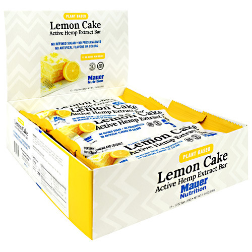 Active Hemp Bar Lemon Cke 12/b