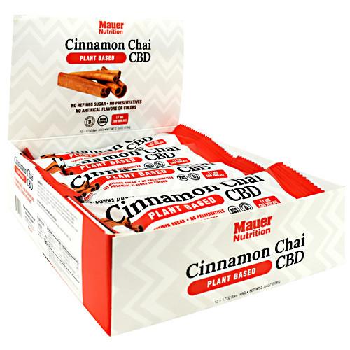 Cbd Bar Cinnamon Chai 12/box