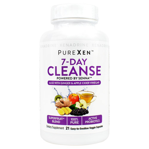 7 Day Cleanse, 21 Easy-to-swallow Veggie Capsules, 21 Easy-to-Swallow Veggie Capsules