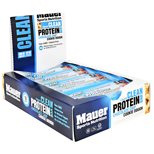Classic Protein Bar, Chocolate Chip Cookie Dough, 12 (2.0 oz) Bars