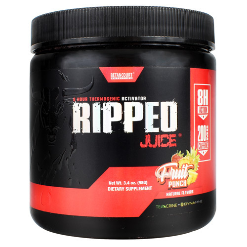 Ripped Juice, Fruit Punch, 30 Servings (3.4 oz)