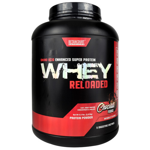 Whey Reloaded, Chocolate Fudge, 68 Servings (5.5 lbs)