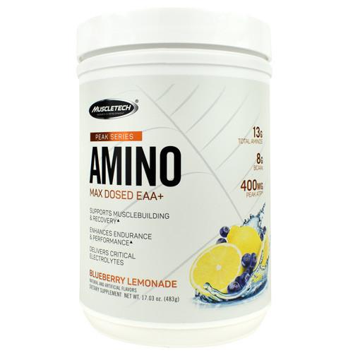 Amino, Blueberry Lemonade, 30 Servings (17.03 oz)
