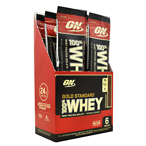 100% Whey, Extreme Milk Chocolate, 6 (1.12 oz) Packets